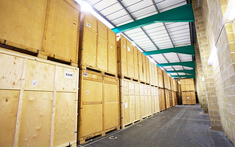 Easymove Bristol | Container Storage Warehouse